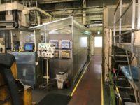 テント部屋を工場の一角に設置