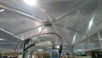 テント型集塵フード施工事例 in奈良