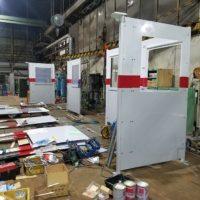 水圧場ガード設置工事