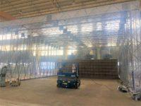 大型電動塗装ブース2棟同時施工!