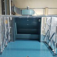 湿式集塵ブースの設置工事 in 神奈川