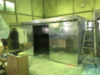 塗装ブース、集塵ブース、乾燥炉施工事例 in岩手