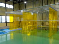 局所排気テントブース 設置